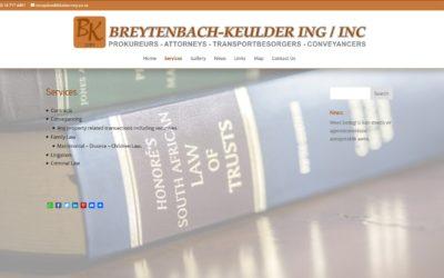 BREYTENBACH-KEULDER PROKUREURS / ATTORNEYS in Modimolle / Nylstroom