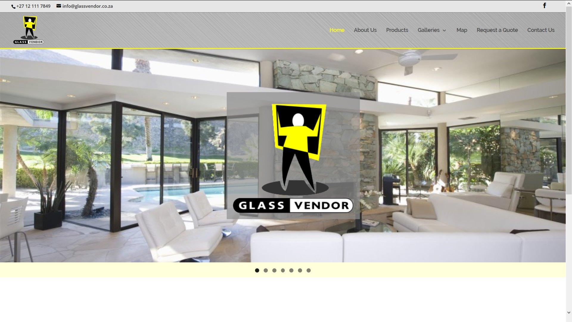 Glass Vendor – Pretoria