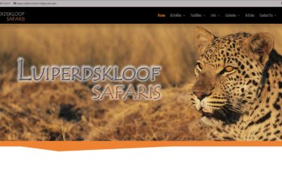 Luiperdskloof Safaris